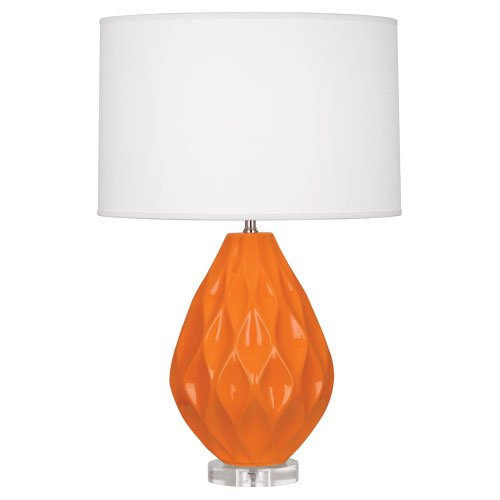 Robert abbey odyssey table lamp available in 3 colors